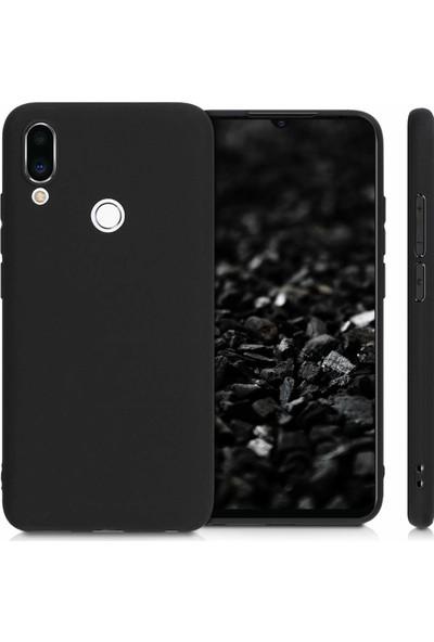 Ssmobil Meizu Note 9 Kamera Korumalı Fit Silikon Kılıf Siyah