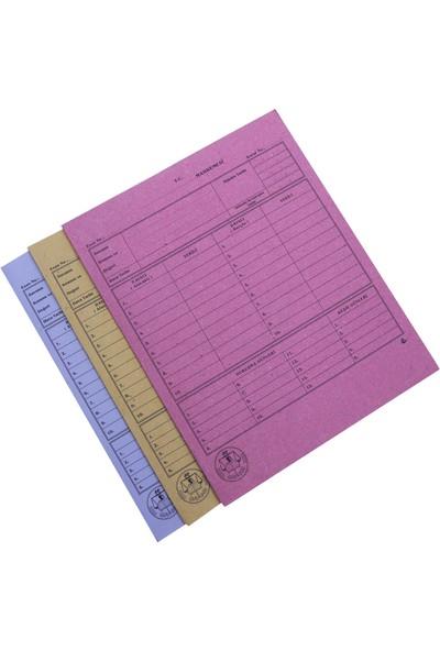 Özkan Baro Dosyası Mahkeme Dosyası 50 li Sarı Bm650