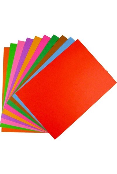 Folia Fon Kartonu A4 10 Renk