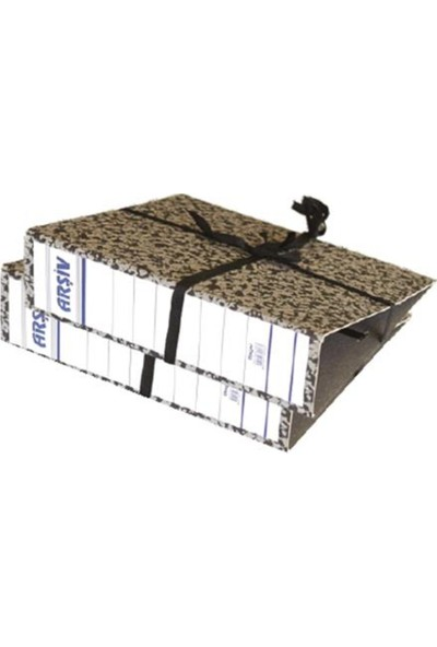 Özkan Arşiv Karton İpli Bağcıklı Klasör Karton Geniş 20 Adet