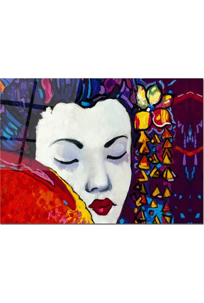 Disegno Cam Tablo Pastel Tablo 50 x 70 cm Uv Baskı Temperli
