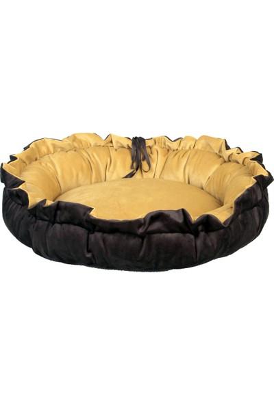Renkli Ev Tasarım İspanyol Model 40 x 40 cm Kedi - Köpek Yatağı