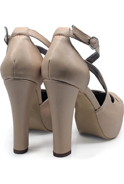 BB Shoes Altea Abiye Ten Rengi