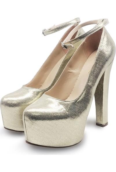 BB Shoes FLORA Abiye Dore Rengi
