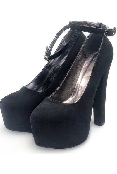 BB Shoes FLORA Abiye Siyah Renk