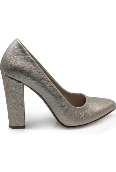 BB Shoes Stiletto Classic Abiye Dore Renk