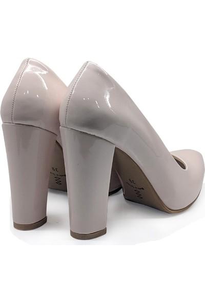BB Shoes Stiletto Classic Abiye Pudra Renk