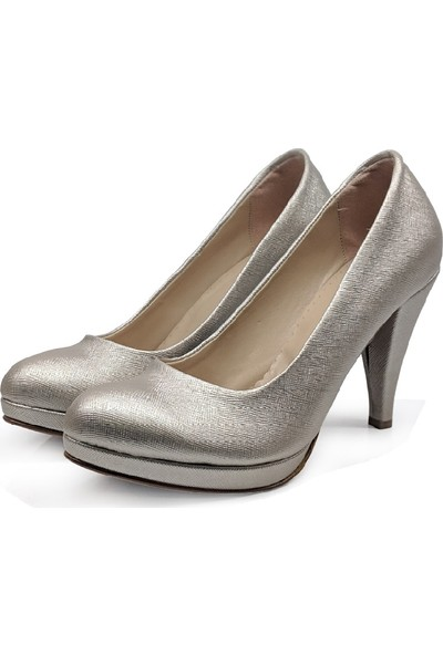 BB Shoes Divina Abiye Lavezzi Dore (Altın) Renk