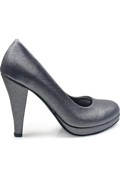 BB Shoes Divina Abiye Antrasit Renk