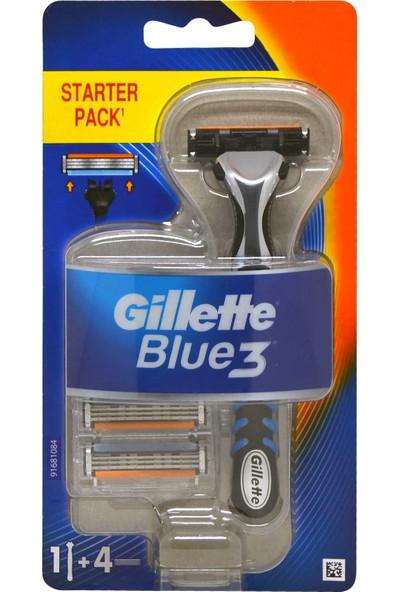 Gillette Blue3 Tıraş Makinesi 4 Yedek Bıçaklı