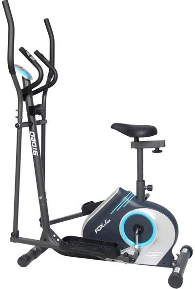 Fox Fitness 910EO Nabız Ölçerli Oturaklı Manyetik Eliptik Bisiklet