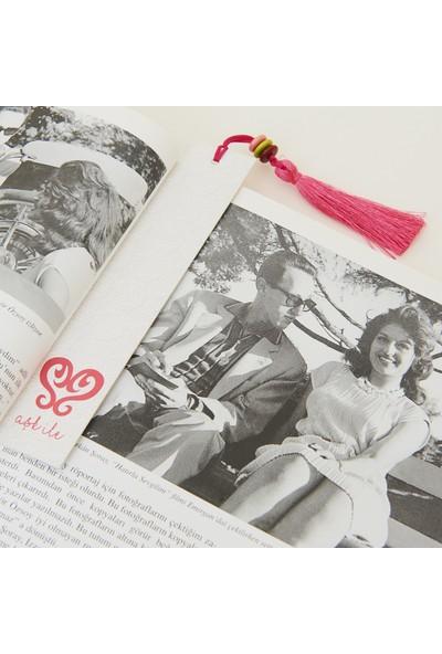 Sihirli Semboller Aşk Sembollü Kitap Ayracı