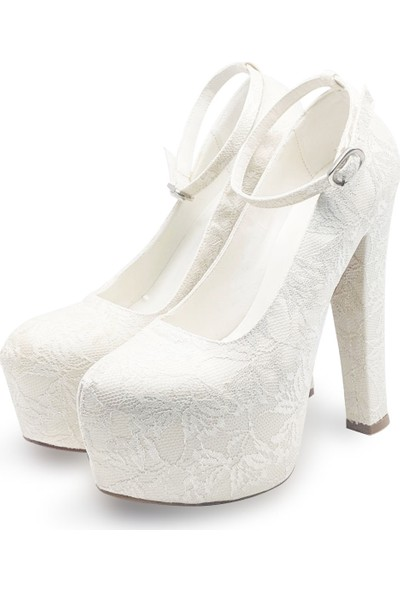 BB Shoes Flora Abiye Düğün Sedef Çınar Renk