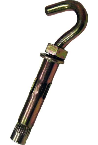 Dübelci̇ Çelik Dübel Açık Kancalı Dübelci 6 x 45 mm 20'li