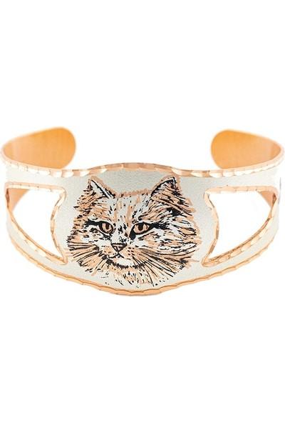 Lotis Catfish Cat Bakır Bilezik