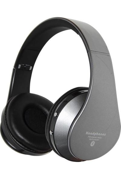Glamshine EB203 Kulaküstü Bluetooth Kulaklık Gri