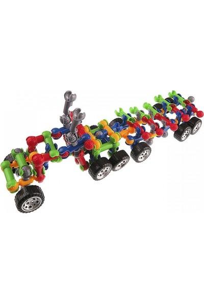 Qıanlı Tekerlekli Zoob 160 Parça