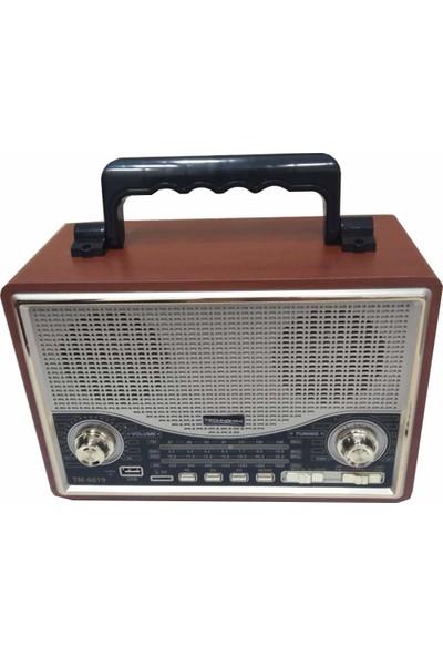 Technomax Nostaljik BT/FM Radio TM-6619