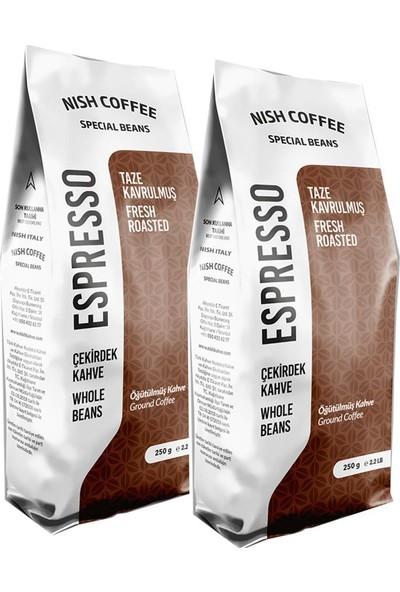 Nish Kahve Espresso Italy Kahve 2 x 250 gr