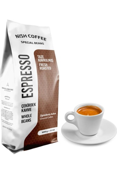 Nish Kahve Espresso Roma Kahve 1 kg