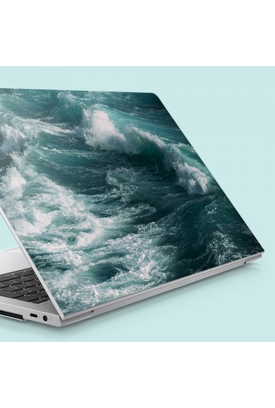 Artikel Dalgalı Deniz Notebook Sticker