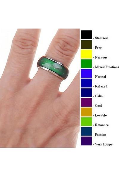 VipBT Ruh Hali Yüzüğü Renk Değiştiren Mod Yüzük Küçük Boy