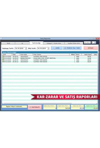 DemirSoft Barkodlu Market Satış Programı (Standart Orta Paket)