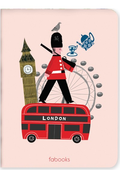 Fabooks London Mini Defter