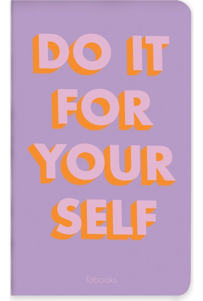 Fabooks Do It For Yourself Midi Defter