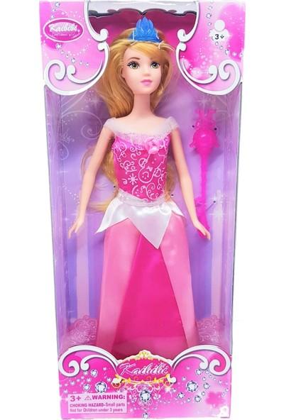 Bircan Kailili Prensesler Aksesuarlı Barbie Bebekler