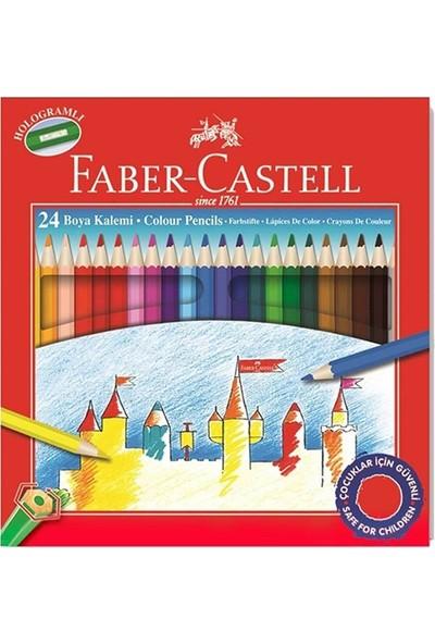 Faber-Castell 24'lü Kuru Boya Kalemi