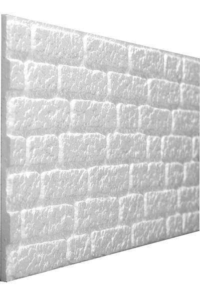 Stikwall Barok Tuğla Desenli Ham Strafor Duvar Kaplama Paneli 651