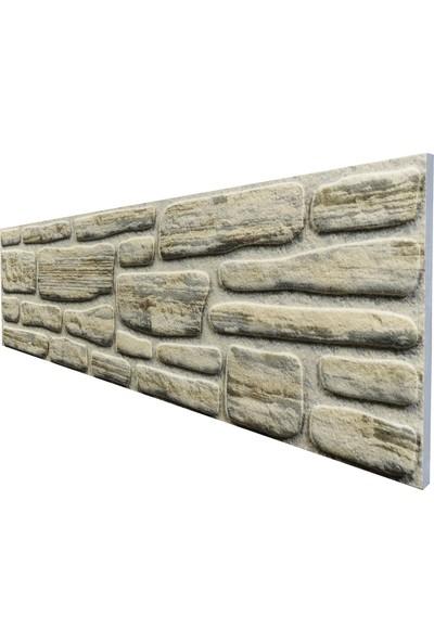 Stikwall Yığma Taş Görünümlü Strafor Duvar Paneli S660-204