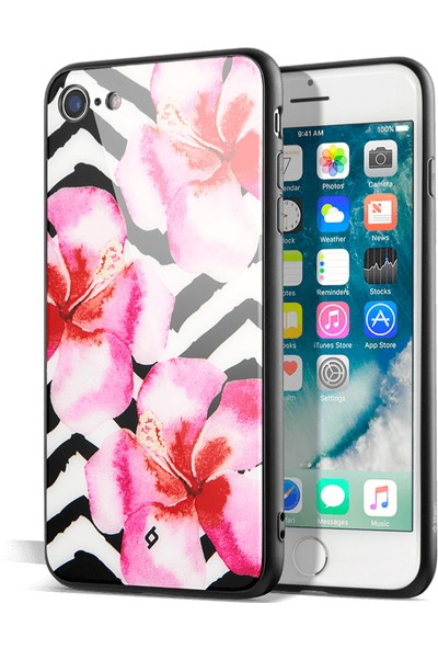 Ttec 2PNS201O Artcase Orkide Desenli Apple iPhone 7/8 Kılıf