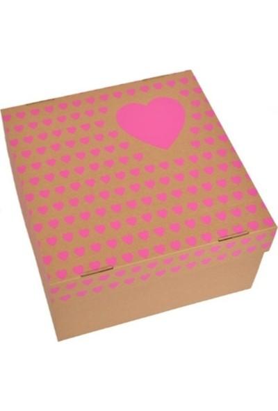 Elitparti Karton Pasta Kutusu (35 x 35 x 20 cm)