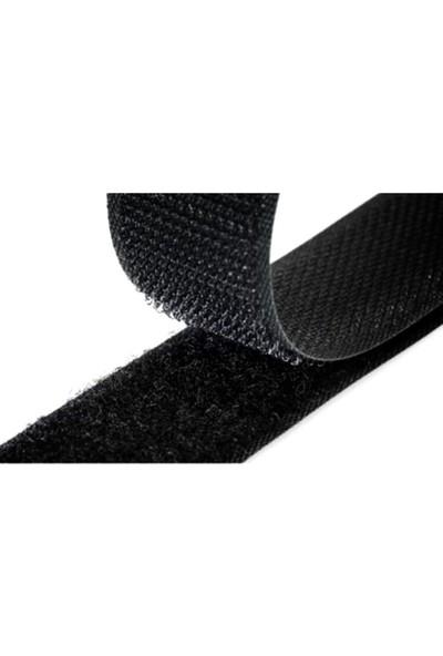 Sermet Süs Dünyası Cırt Bant Takımı 2 cm x 5 M Siyah