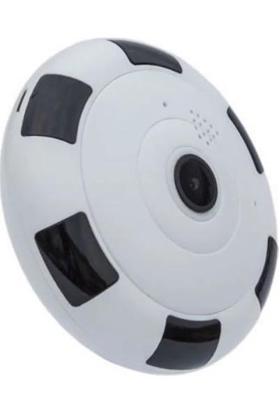 İoma Panoramik Kablosuz Bakıcı ve Güvenlik Kamerası 1080P Gece Görüşlü