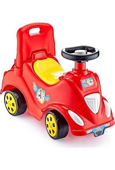 GUÇLU Toys İlk Arabam Oyuncak Kırmızı