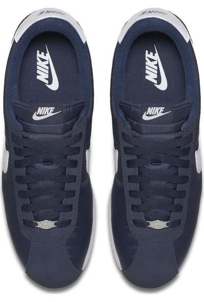 Nike Cortez Basic Nylon Erkek Lacivert / Siyah Spor Ayakkabı 819720-411