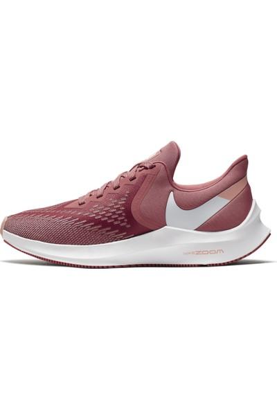 Nike Wmns Zoom Winflo 6 Kadın Gül Kurusu Koşu Ayakkabısı Aq8228-800