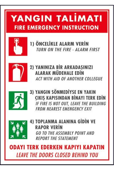 Dafne Yangın Yangın Talimatı