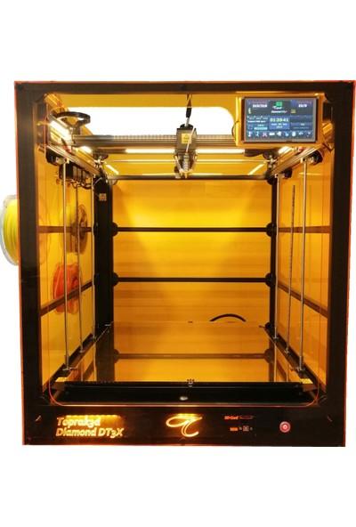 Toprak Diamond DT3X Profesyonel Renkli 3D Yazıcı