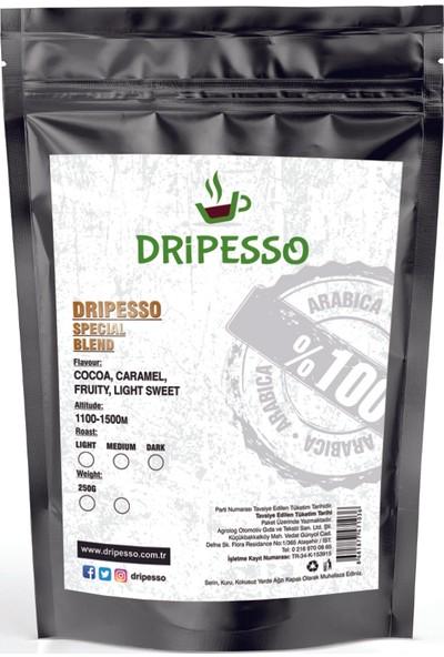 Dripesso Blend Filtre Kahve 250g Fırsat Paketi / Bardak ve Demleme seti Fırsat Paketi