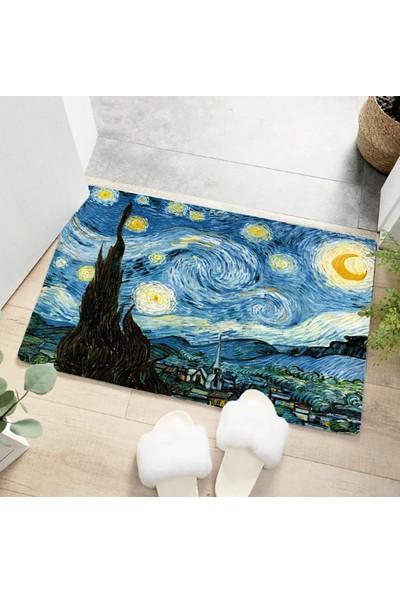 Homessa Van Gogh Iç ve Dış 50x80 Kapı Önü Paspas