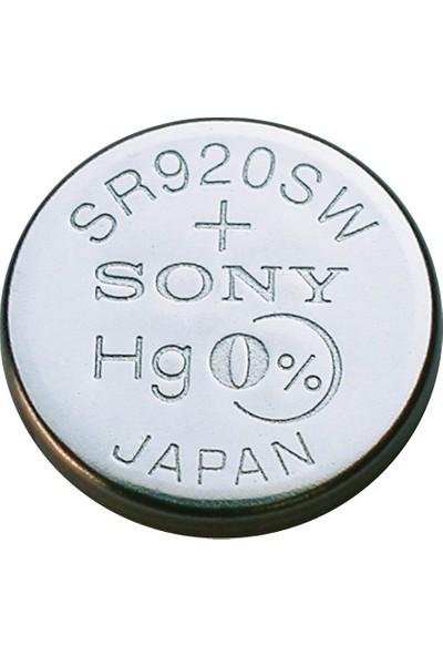 Sony SR920SW 371 Sr 920 Sw 1.55V 1 Adet Saat Pili