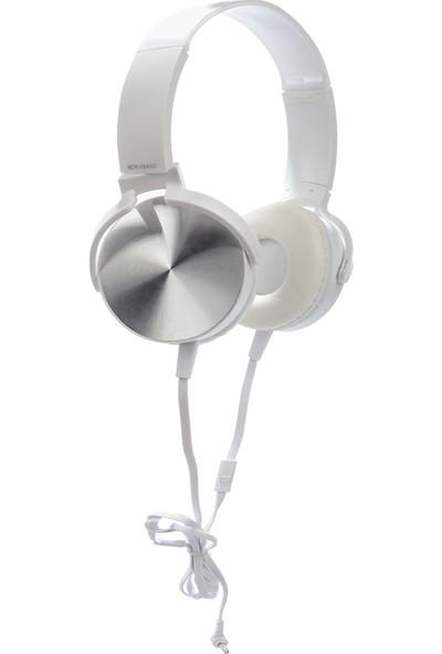 Fark Burada MDR-XB450AP Mikrofonlu Kulaklık - Beyaz