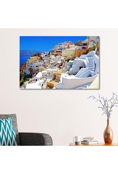 Çerçevelet Thíra - Santorini 35 x 25 cm