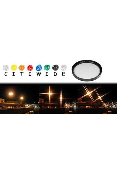 Citiwide 82 mm Star Yıldız 4 Noktalı Filtre