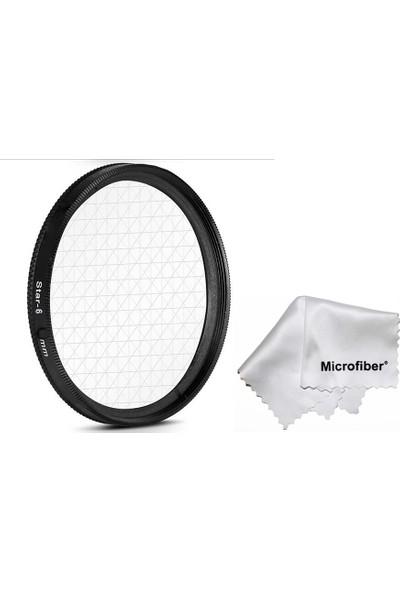 Citiwide 82 mm Lensler için Star Yıldız 6 Noktalı Filtre