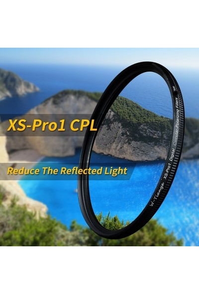 Tianya 82mm XS-PRO Slim Cir Cpl Circular Polarize Filtre
